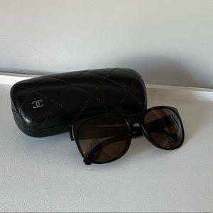 Chanel Sunglasses Tortoise/Brown Color
